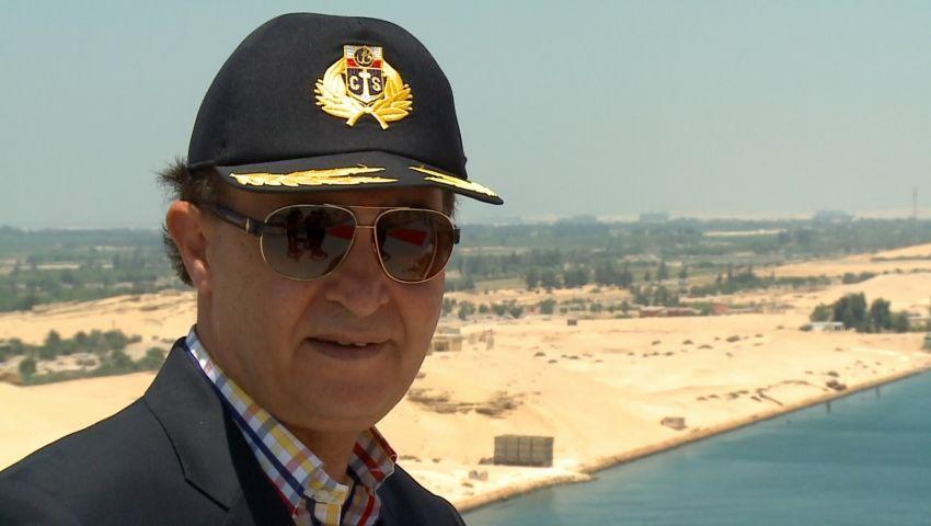 فيديو.. مهاب مميش: حفل افتتاح القناة في كل المحافظات