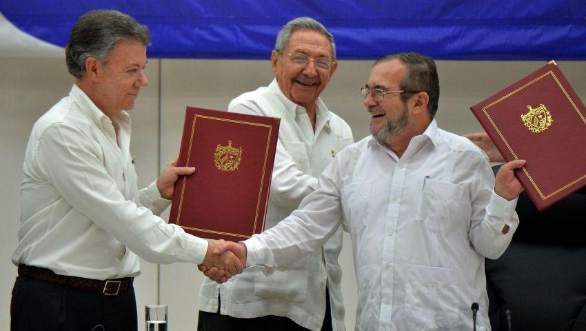 كولومبيا والفارك أبرز المرشحين لنوبل للسلام