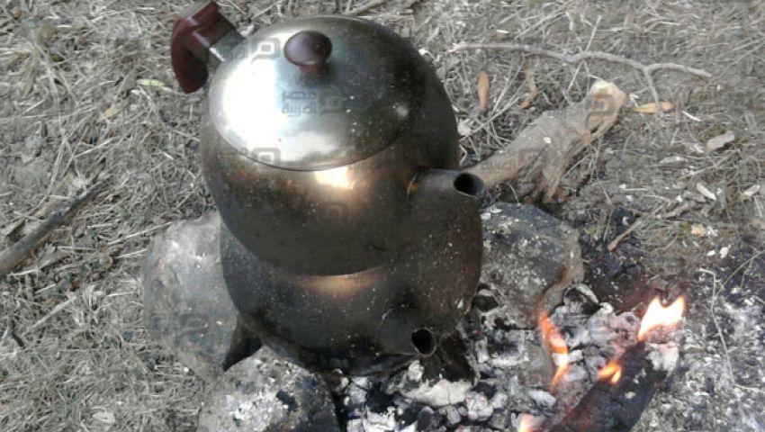 فقط في بني سويف.. شاي بنكهة الترعة