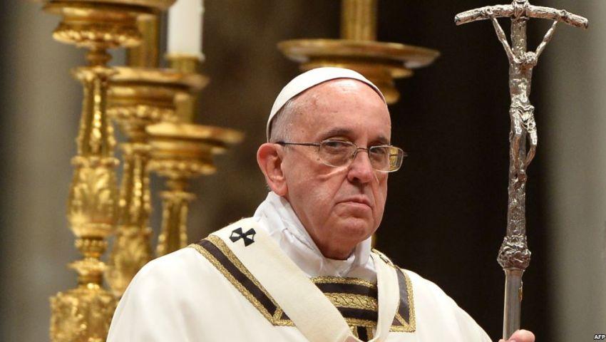 بابا الفاتيكان يدين انفجار كنيسة مارجرجس