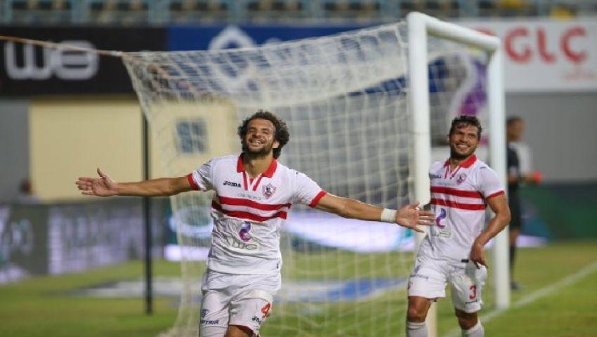 عوامل تهدد استمرار محمود علاء مع الزمالك