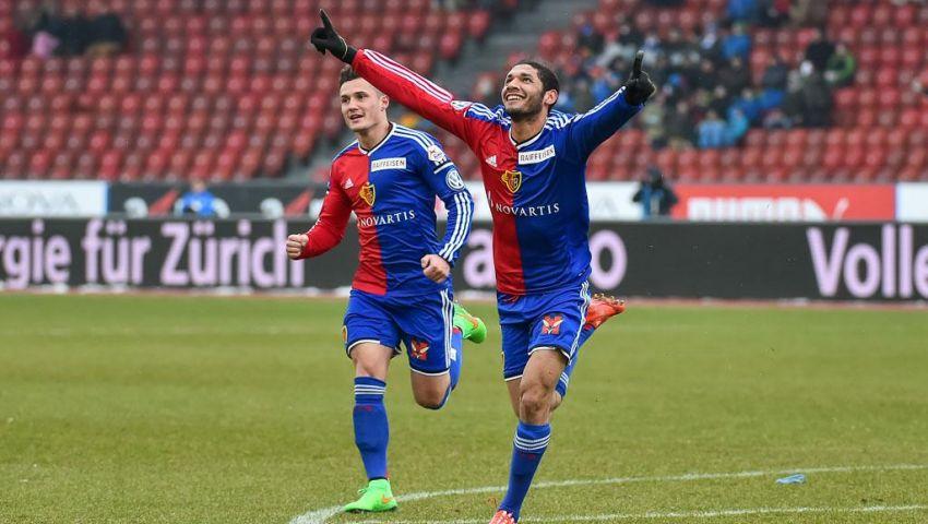 النني أساسيا أمام سيون في الدوري السويسري