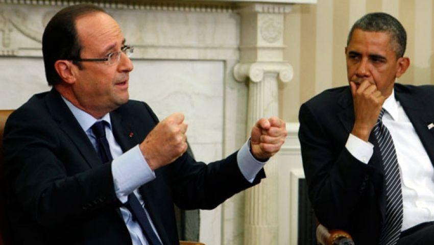 أوباما وأولاند: النظام السوري استخدم الأسلحة الكيماوية