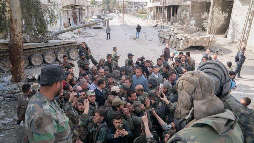 تبادل أسرى بين النظام السوري وفصائل معارضة