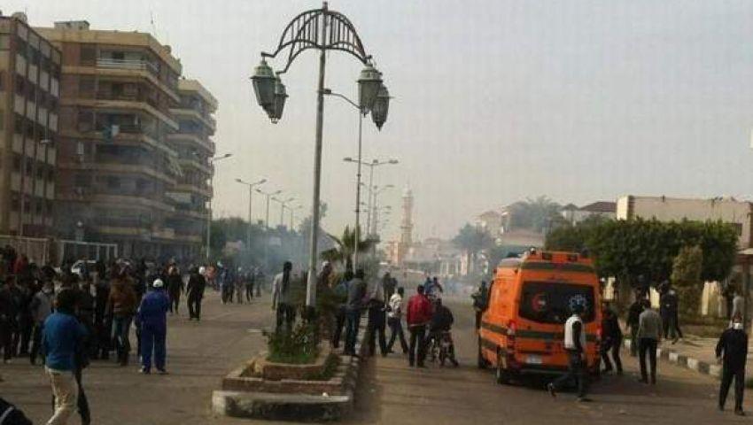 اشتباكات بين مؤيدين ومعارضين لمرسي بالأسكندرية