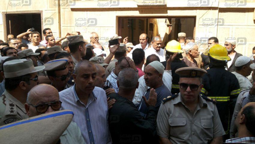 بالصور| تشيع جنازة ضحية هجوم العريش بمسقط رأسه في طنطا