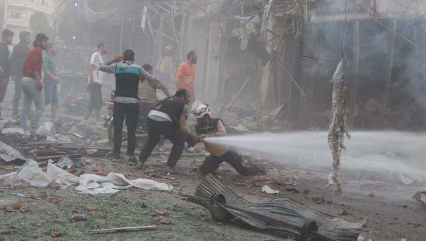 مجزرة جديدة للنظام في جسر الشغور.. إدلب ما تزال تحت القصف