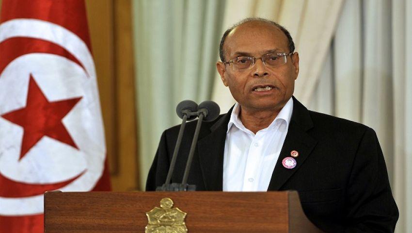 الرئيس التونسي المرزوقي يقدم أوراق ترشحه لولاية رئاسية ثانية
