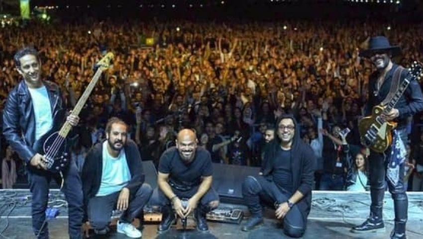 أغاني مسار إجباري ومحمد محسن في مهرجان قلعة صلاح الدين