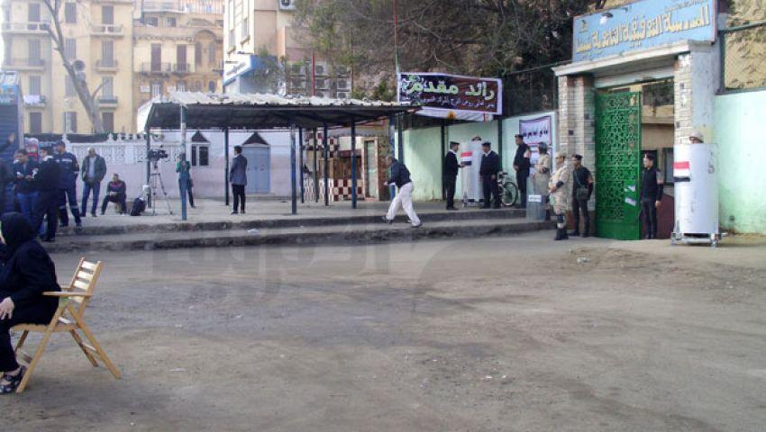 شبرا مصر.. غياب الناخبين وحضور الأمن والإعلام
