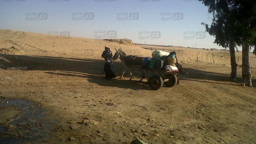 بالصور.. شمال سيناء على حافة ثورة عطش بمدن الحدود
