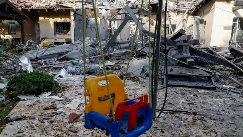 بلومبرج: صاروخ غزة أصاب نتنياهو بالعرج
