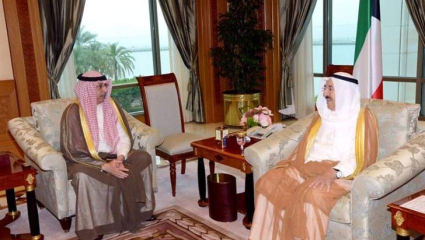 أمير الكويت يستقبل رئيس مجلس إدارة اتحاد المصارف العربية