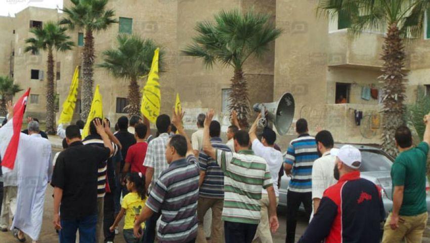 بالصور.. أمن الإسكندرية يداهم منازل معارضين بأبيس