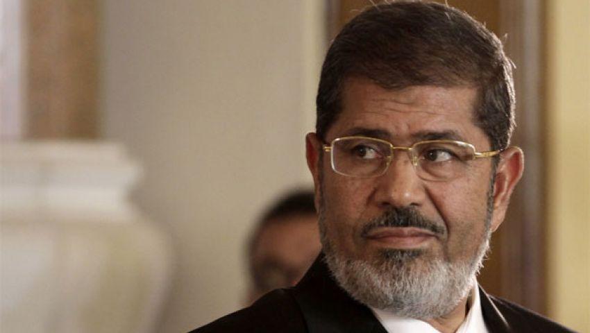 حبس مرسي 15يوما بتهمة التخابر
