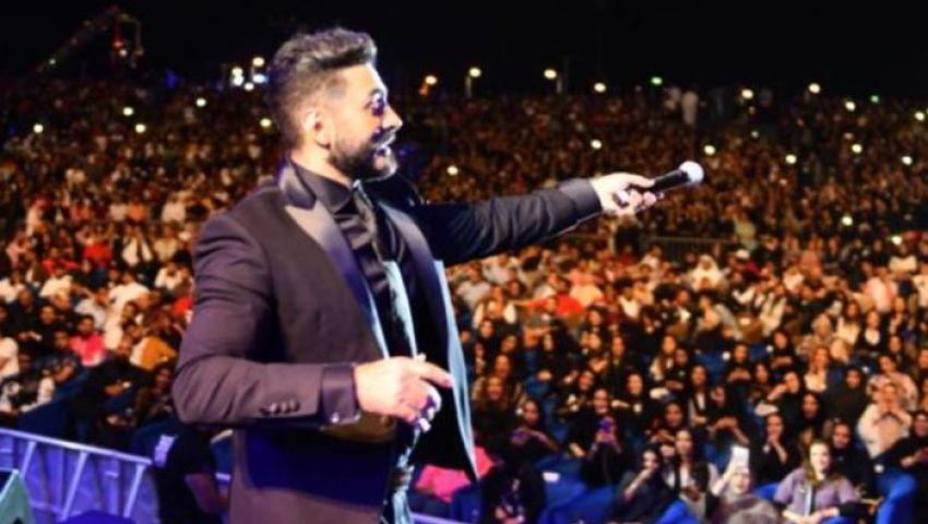 من الأهرامات.. تفاصيل حفل تامر حسني أول أيام عيد الفطر 2020