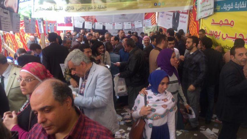 بالأسماء.. ننشرالكشوف النهائية لانتخابات نقابة الصحفيين