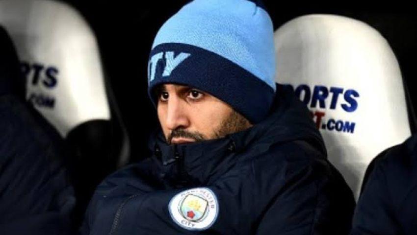 فيديو | ماذا فعل رياض محرز لحظة هدف محمد صلاح في مانشستر سيتي؟
