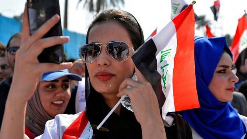 الفرنسية: من التحرير لـ«تويتر».. وسائل التواصل الاجتماعي أدوات الثورة العراقية