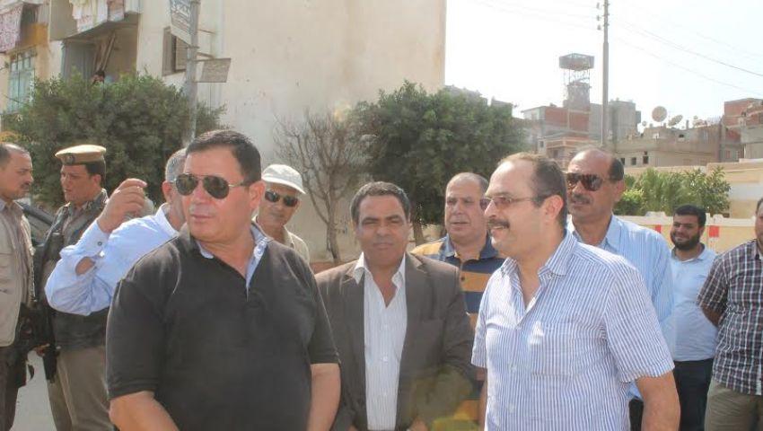 سوق للباعة الجائلين وموقف سيارات بكفر سعد