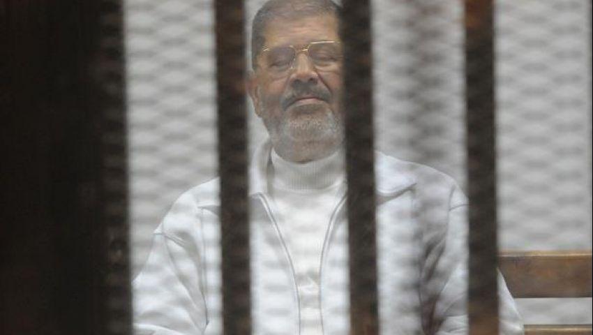 تأجيل محاكمة مرسي في التخابر مع قطر لجلسة 19 مايو