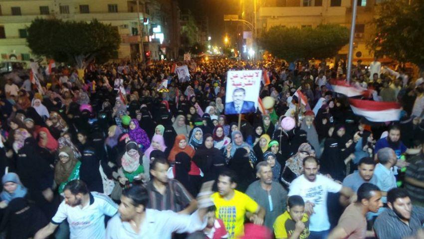 مسيرات ووقفات احتجاجية دعما للشرعية ولـإسقاط نظام مبارك