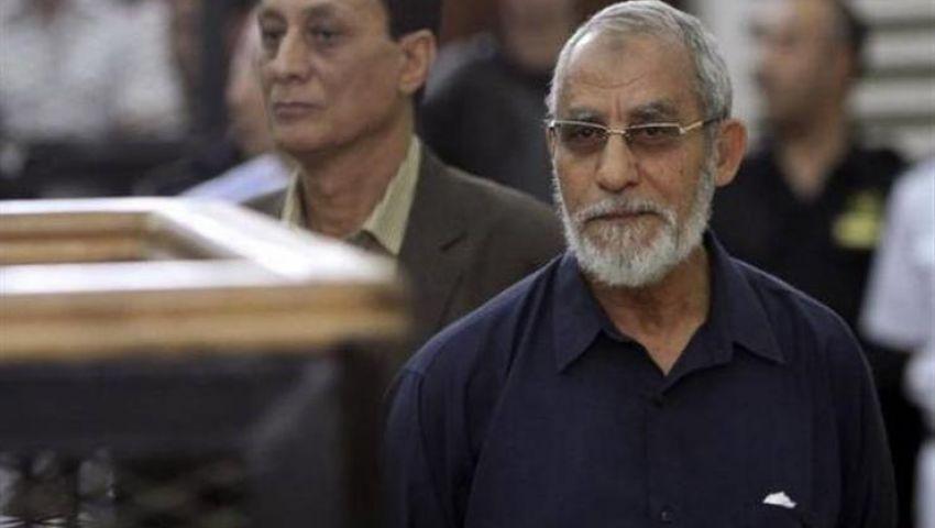 «النقض» تلغي إدراج مرشد الإخوان وآخرين على «قائمة الإرهاب»