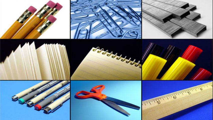 ارتفاع أسعار الأدوات المكتبية بنسبة 25 %