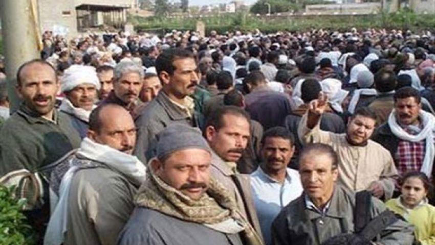 الاعتداء على عمال سمنود بالخرطوش والغاز