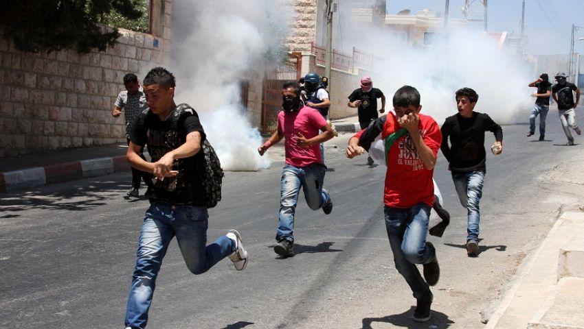 إصابات بالاختناق خلال تفريق الاحتلاللاعتصام شرقي القدس