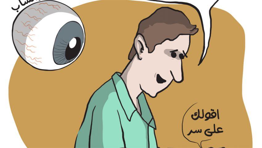 كاريكاتير : واتسآب و اتهامات التجسس و اختراق حسابات المستخدمين
