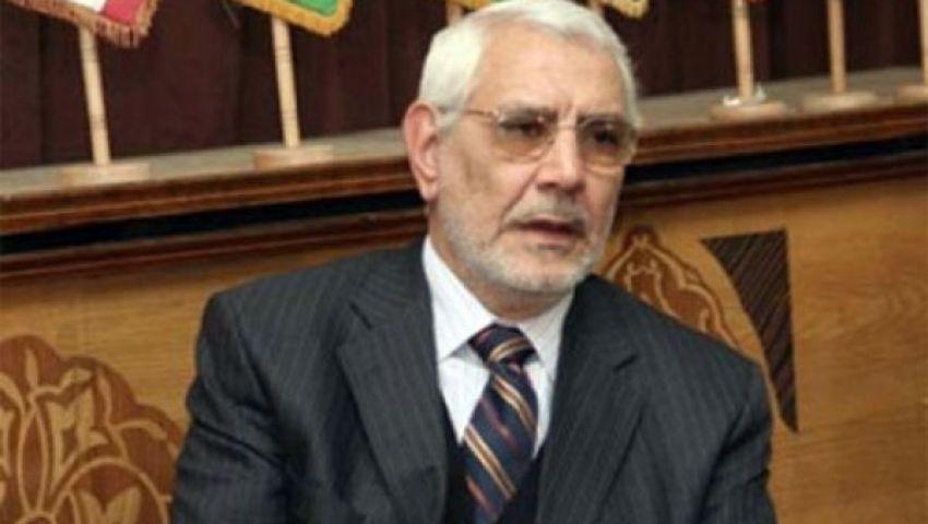 أبو الفتوح: حكومة الببلاوي حكومة انقلاب