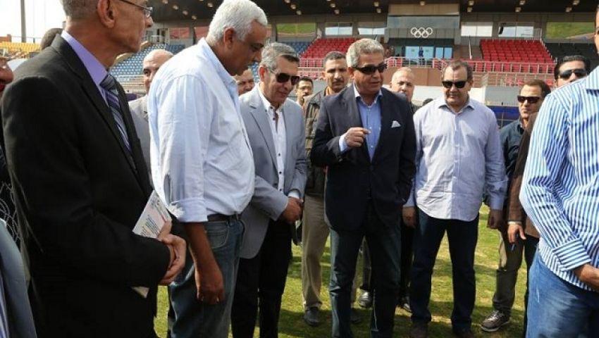 وزير الرياضة: استاد الإنتاج الحربي إضافة قوية للمنشآت الرياضية بمصر