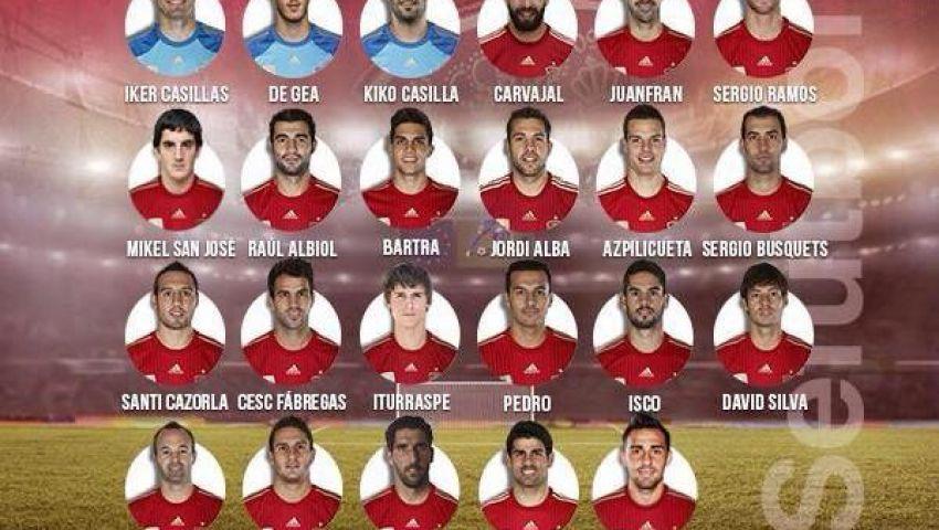 استبعاد بيكيه وتوريس من قائمة منتخب إسبانيا