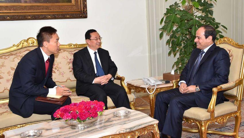 السيسي يتلقى دعوة لزيارة الصين نهاية العام