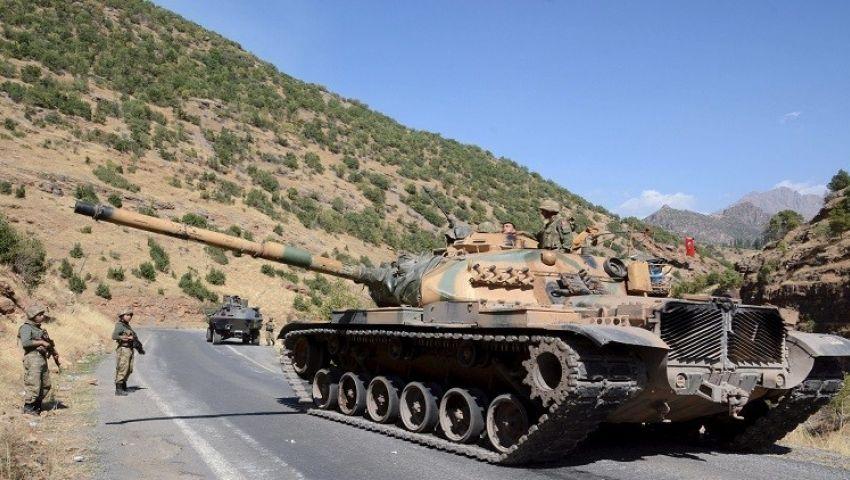 القوات التركية تستهدف مواقع داعش شمالي العراق