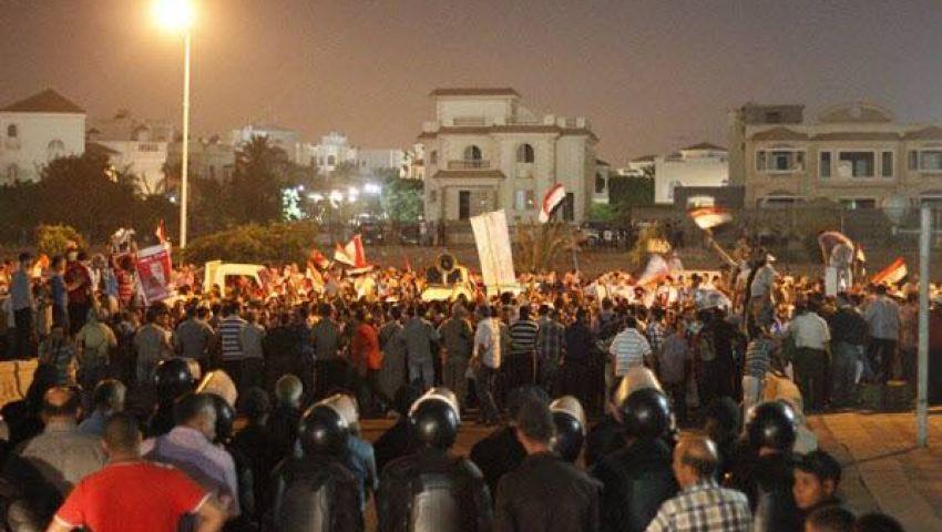 أنصار مرسي ينهون تظاهراتهم أمام مدينة الإنتاج الإعلامي