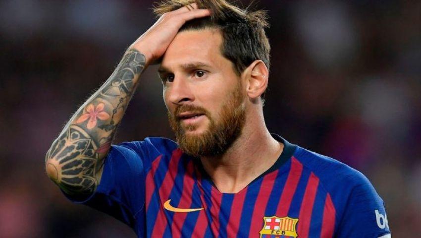 استبعاد ميسي من قائمة مباراة برشلونة ودينامو كييف