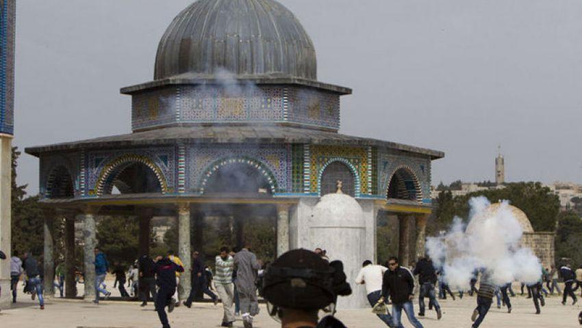 اشتباكات بمحيط المسجد الأقصى