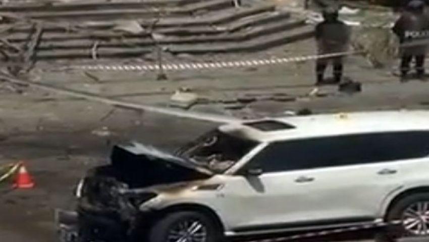 الداخلية: تفجير موكب الوزير بقنبلة تحكم عن بعد
