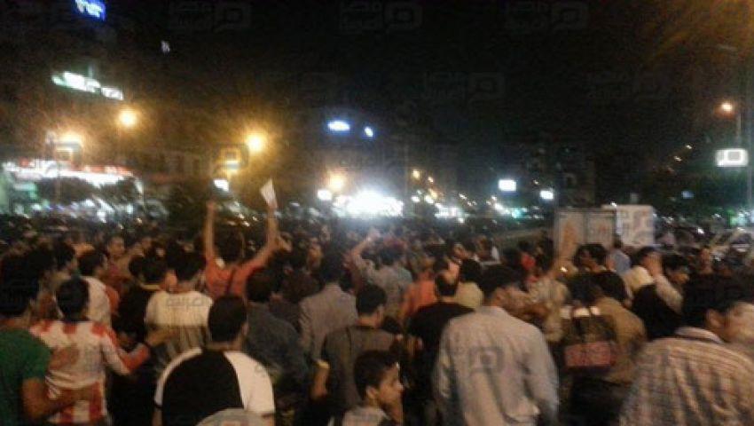 بالصور.. مظاهرة للمعارضة في ميدان التحرير