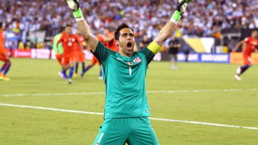 برافو لا يريد التفكير في إمكانية غياب تشيلي عن مونديال 2018