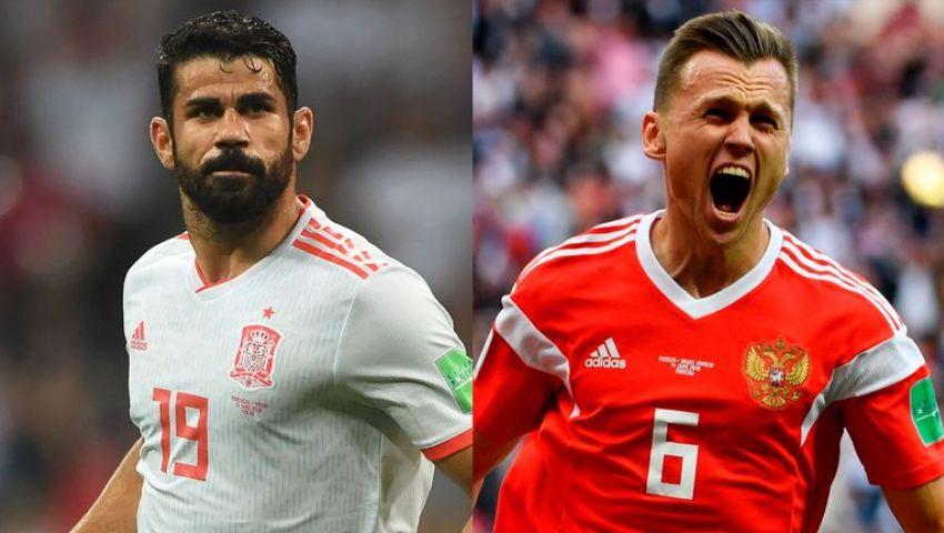 مونديال روسيا.. التشكيل الرسمي لمواجهة  إسبانيا و روسيا