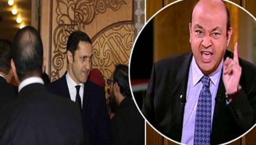 فيديو  عمرو أديب لعلاء مبارك: «مش على آخر الزمن واحد رد سجون هيعلمني الأدب»