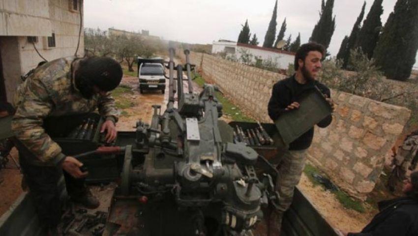 المعارضة السورية تحاصر قرية الراعي الخاضعة لسيطرة داعش