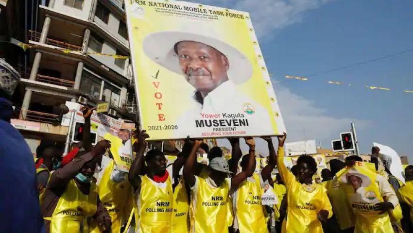 موسيفيني رئيسًا لأوغندا للمرة السادسة.. والفضل لأمريكا