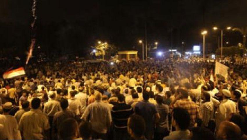 أنصار مرسي يمنعون الحياة من التصوير بميدان النهضة