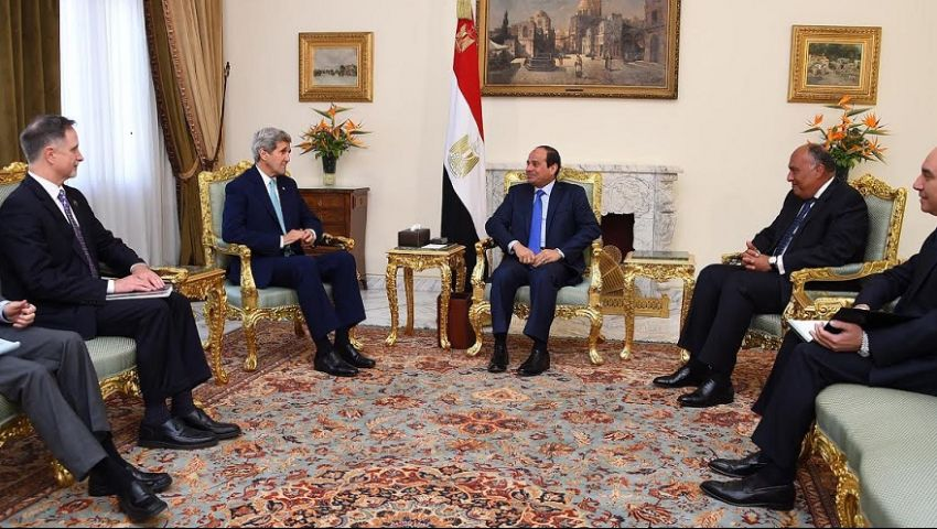 أوباما يؤكد للسيسي دعمه لمصر في مواجهة الإرهاب بسيناء