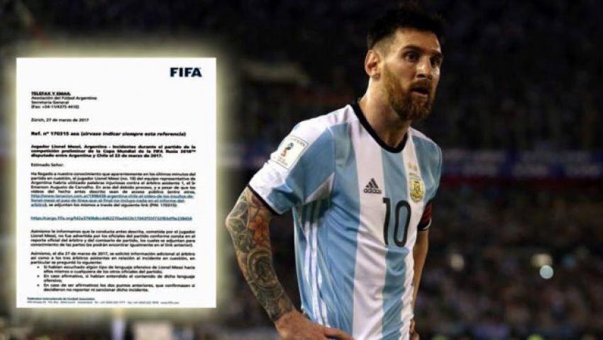 رسميًا| «فيفا» يوقف ميسي 4 مباريات دولية