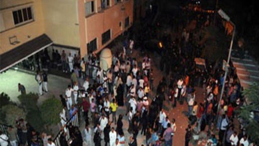 أسيوط تُشيع جثمان مجند استشهد في أحداث قسم كرداسة